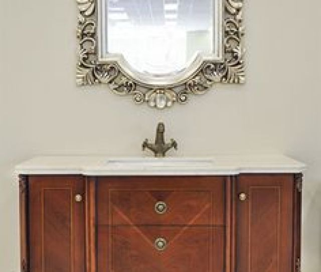 Transitional Bathroom Vanity Set Abriola