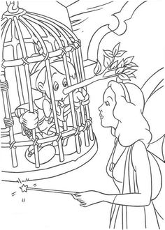 pinocchio coloring pages and coloring on pinterest