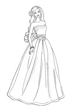 coloring pages for girls princess coloring pages and barbie