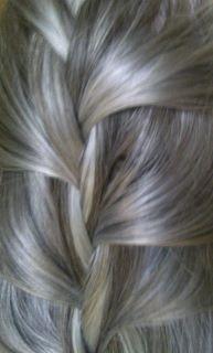 Silky Gray Hair