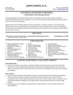 resume format of electrical engineer standard format resume