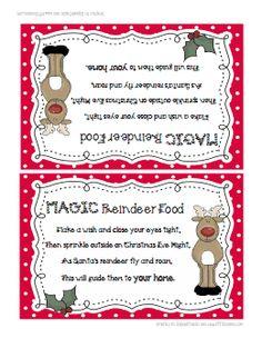 1000 Images About Reindeer Food On Pinterest Reindeer