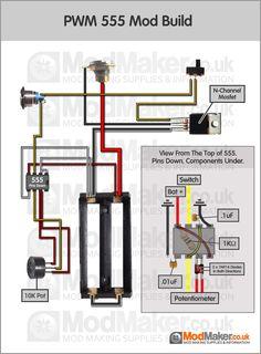 Series Battery Mosfet Wiring Diagram   BOX MOD schematy