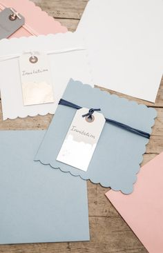 DIY – Invitations de