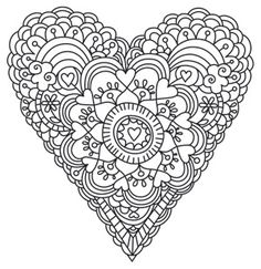 1000 images about valentine 39 s day coloring pages on pinterest