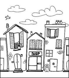 colouring pages barns and coloring pages for kids on pinterest