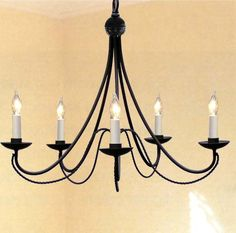 A7 403 5 Country French Chandelier Chandeliers Crystal
