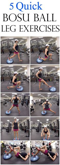 Bosu Ball Workout Plans