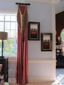 Short Side Panel Curtain Rods Short Curtain Rods Pinterest Panel Curtains And Side Panels