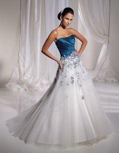 Sapphire Blue Wedding Dress. royal blue wedding dresses wedding ...
