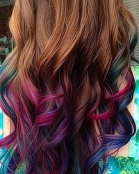 1000 images about cool hair ideas on pinterest dip dyed bangs and brunette hair