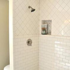 Tub Surround Large Windows And Tiling On Pinterest