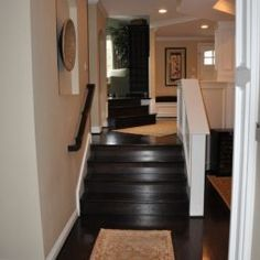 Split Level Leading To The Master Bedroom Only