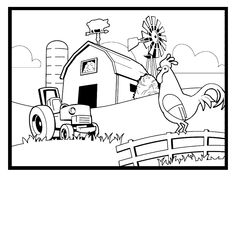 1000 images about farm on pinterest farm crafts coloring