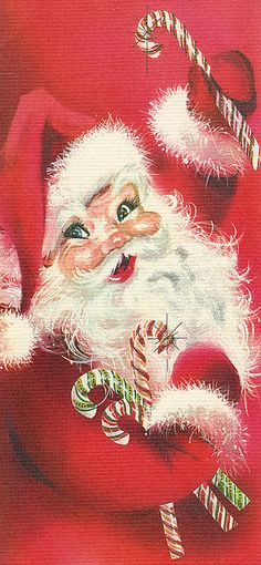 1000 Images About Vintage Santa Claus Pictures On