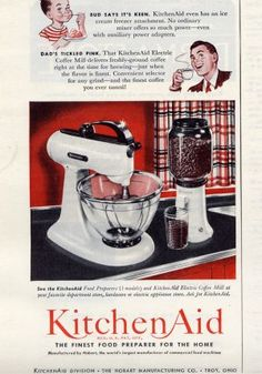 1000 Images About Collage Of Retro Kitchen Advertisements