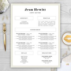 1000 images about resume templates on pinterest cv template