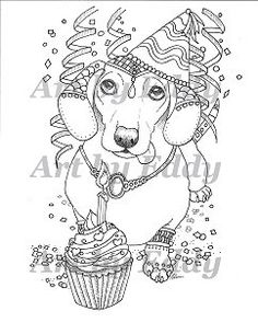 dachshund coloring pages and coloring on pinterest