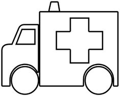 ambulance coloring pages free printable coloring page ambulance