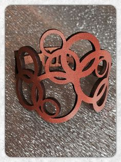 DIY Leather Cuff Bracelet Cricut Secret Santa Project