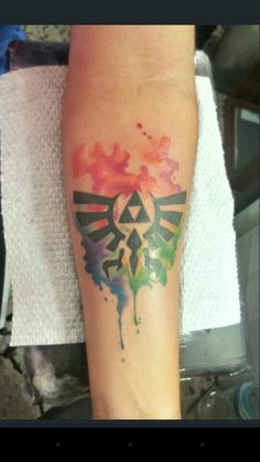My Legend Of Zelda Tattoo Ocarina Of Time Theme The