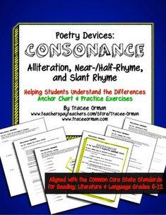 Images About Assonance Consonance