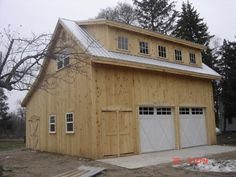 1000 Ideas About Timber Frame Garage On Pinterest Car