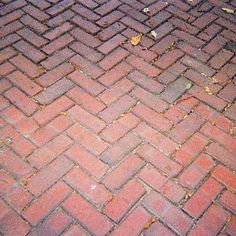 Image result for red brick sidewalk
