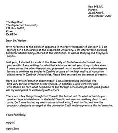 scholarship application letter applying for education scholarships