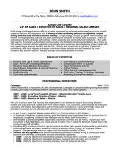 sales resume resume and resume objective on pinterest