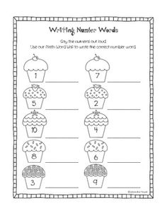 Images About Number Words