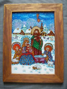 1000 Images About ArtChristmas Paintings On Pinterest