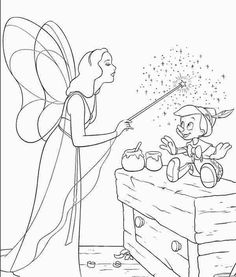 pinocchio coloring pages and disney coloring pages on pinterest