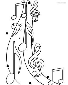music notes mustdo pinterest music notes coloring sheets