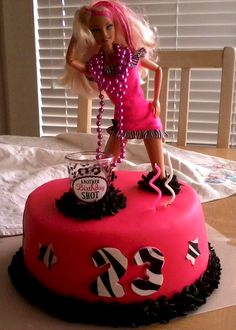 Barbie 21st Birthday Cake This One Is Way Cuter Than The