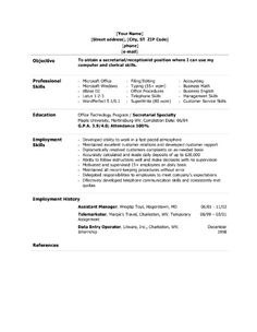 administrative assistant resume resume and administrative
