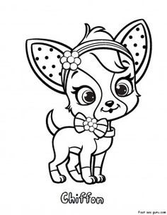 chihuahuas coloring and coloring pages on pinterest