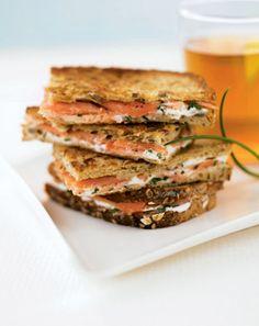 Smoked Salmon Sandwich On Pinterest Salmon Sandwich