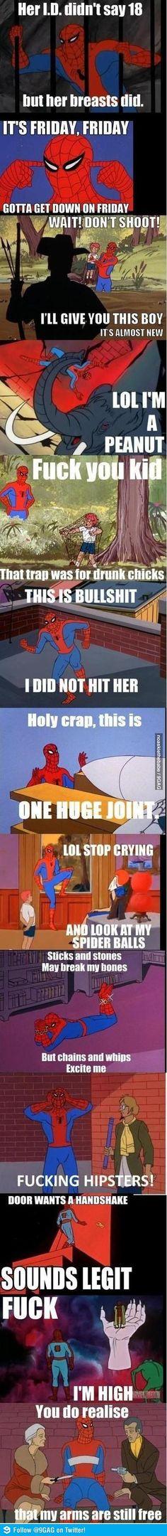 Spider Man Meme hungoverspidermanmemegeneratorohno