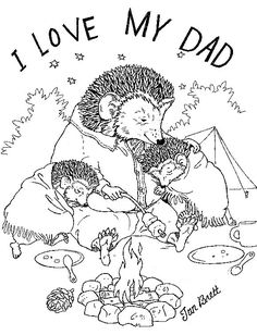 jan brett coloring and coloring pages on pinterest