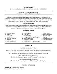 sample resume for welder sample resume welder resume on guidelines