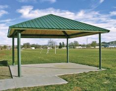 Slanted Roof Pavilion Steel Frame Gazebo Manufacturers Projects Pinterest Pavilion