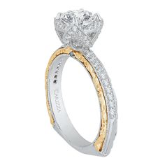 1000 Images About Carizza Engagement Ring Collection On