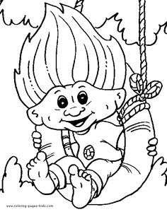 box trolls coloring pages