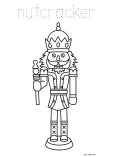 nutcrackers coloring sheets and coloring on pinterest