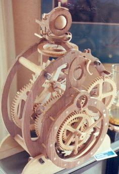PDF Wooden Clock Plans Free Download Clocks Pinterest
