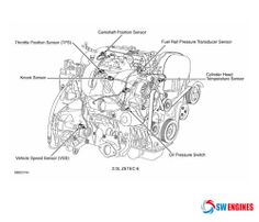 1000 images about Engine Diagram on Pinterest   Engine, Honda civic engine and Toyota camry