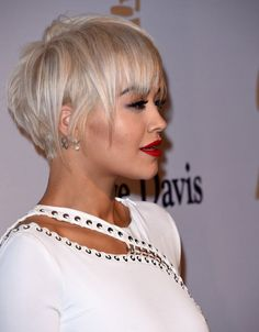 In Love With This Hair Cut Color And Everything On Her