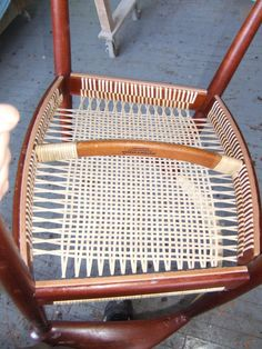 1000 Images About Chaise Et Tissage Chair And Weaving