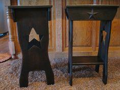 Black Primitive Star Tables https://www.facebook.com/pages/Primitive ...